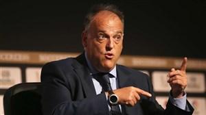 رئیس لالیگا و تهدید بازیکنان برای رعایت قرنطینه