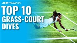 10 شیرجه شگفتانگیز در مسابقات تنیس