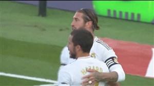 گل دوم رئال مادرید به ایبار با حرکت تهاجمی راموس
