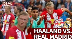 عملکرد ارلینگ هالند 18 ساله مقابل ستارگان رئال مادرید