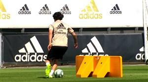 اولین تمرین رئال مادرید برای دیدار برابر والنسیا