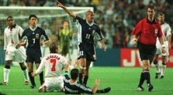 دیدار جنجالی آرژانیتن - انگلستان در جام جهانی 1998