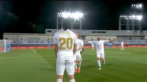 گل دوم رئال مادرید به والنسیا توسط آسنسیو