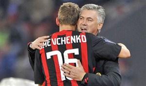 لحظاتی با شوچنکو ستاره سابق میلانی ها در خط حمله