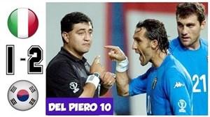 شکست تلخ ایتالیا از کره جنوبی در جام جهانی2002