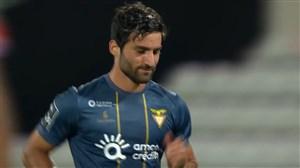 ناکامی در گلزنی مهرداد محمدی در برابر ژیل ویسنته