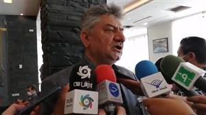 صفیری : از کمک داوران در مراکز استان ها تست گرفته می شود