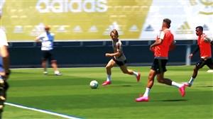 اولین تمرین رئال مادرید برای رویارویی با مایورکا