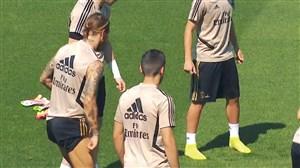 تمرینات امروز تیم رئال مادرید