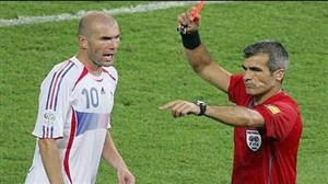 کارت قرمزهای ناگهانی و باورنکردنی از ستارگان فوتبال