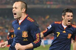 دیدار جنجالی اسپانیا - شیلی در جام جهانی 2010