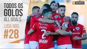 تمام گل های هفته 28 لیگ پرتغال 20-2019