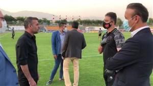 خوش و بش عبدالله ویسی با یحیی گل محمدی