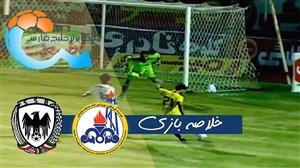 خلاصه بازی شاهین شهرداری 2 - نفت مسجدسلیمان 2