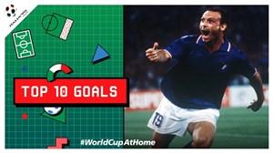 10 گل برتر جام جهانی ایتالیا 1990