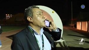 ماجرای آتش سوزی در استادیوم صنعت نفت آبادان