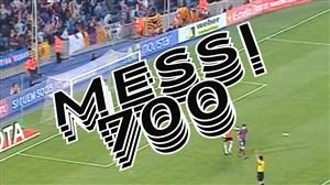 به مناسبت 700 گله شدن مسی در بارسلونا و آرژانتین