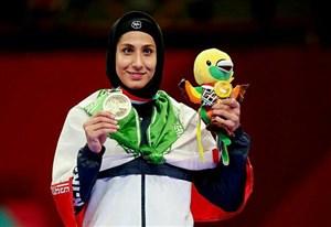 حمیده عباسعلی: آرزویم رسیدن به مدال المپیک است