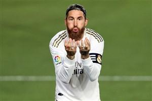 گل اول رئال مادرید به بیلبائو (راموس - پنالتی)
