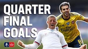 برترین گلهای یک چهارم نهایی جام حذفی انگلیس