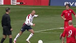بازی خاطره انگیز انگلیس - ولز در سال 2004