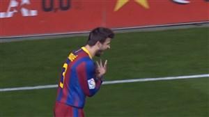 5 گل برتر بارسلونا برابر ویارئال