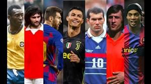25 بازیکن برتر تمام تاریخ فوتبال