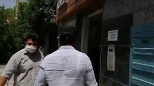 حضور فرهاد مجیدی در محل باشگاه استقلال
