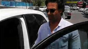 خروج فرهاد مجیدی از باشگاه استقلال بدون پاسخ گویی به خبرنگاران