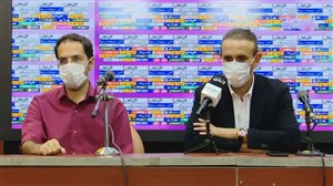 کنفرانس خبری گل محمدی پس از دیدار برابر شاهین