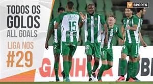 تمام گل های هفته 29 لیگ پرتغال 20-2019