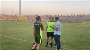 داوران بازی پارس - استقلال وارد ورزشگاه شدند