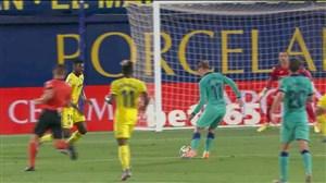 سوپر چیپ گریزمان و گل سوم بارسلونا به ویارئال
