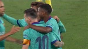 گل چهارم بارسلونا به ویارئال توسط آنسو فاتی