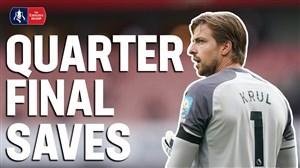 سیوهای برتر جام حذفی انگلیس در یک چهارم نهایی