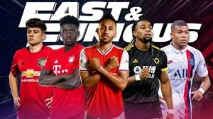 10 بازیکن برتر سال 2020 از نظر سرعت دوندگی