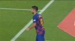 گل اول بارسلونا به اسپانیول توسط سوارز