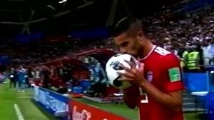 روز جهانی بوسه در دنیای فوتبال