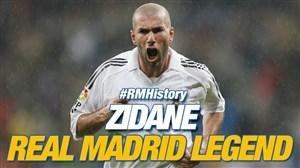 افسانه ای به نام زیدان در تاریخ باشگاه رئال مادرید