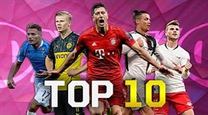 برترین گلزنان فوتبال اروپا در فصل 20-2019