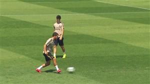آخرین تمرینات رئال مادرید قبل از دیدار برابر آلاوس