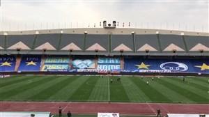 حال وهوای ورزشگاه آزادی پیش از بازی بزرگ امروز