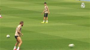 آخرین تمرینات رئال مادرید قبل از دیدار برابر گرانادا