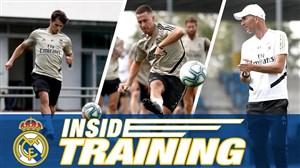 تمرینات رئال مادرید برای آماده سازی بازیکنان