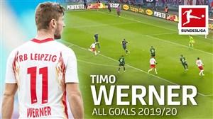 تمام گلهای تیمو ورنر در فصل 20-2019