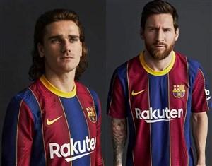 روونمایی از کیت جدید باشگاه بارسلونا