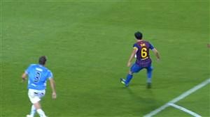 5 گل برتر بارسلونا برابر اوساسونا