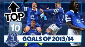 10 گل برتر اورتون در فصل 14-2013