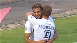 هتریک شهاب زاهدی در برابر لووف در لیگ اوکراین
