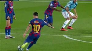 گلهای برتر بارسلونا در مرحله یک شانزدهم لیگ قهرمانان